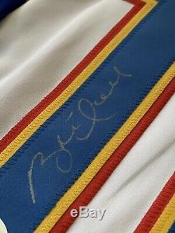Brett Hull Chandail Autographié / Signé Jsa Coa St Louis Blues
