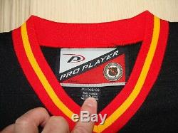 Calgary Flames 3 Joueur Autre Cheval Pro Starter Jersey Hockey 2xl Hommes