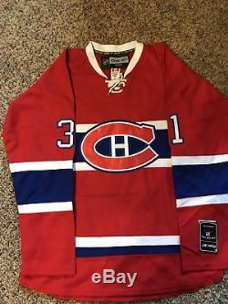 Carey Price Canadiens De Montreal Maillot Autographié / Signé Jsa Coa