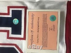 Carey Price Chandail Reebok Authentic Sur Ice Autographié Par Les Canadiens De Montréal #coa