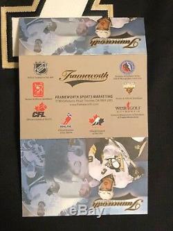 Chandail Autographié Par Sidney Crosby Coeurworth Reebok Des Penguins De Pittsburgh