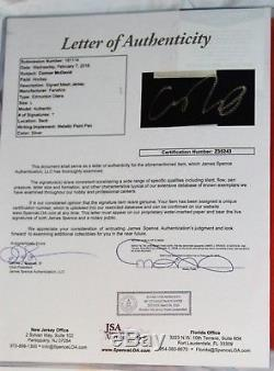 Connor Mcdavid # 97 Maillot Signé Edmonton Oilers + Lettre Jsa Coa