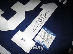Curtis Joseph Les Maple Leafs De Toronto Signés Jersey Autographié Avec Beckett Bas Coa L