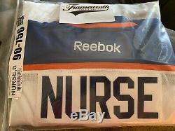 Darnell Nurse Signé Oilers (frameworth Coa)