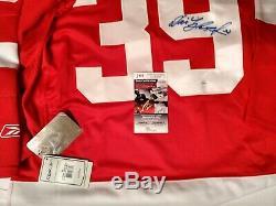 Dominik Hasek Signé Red Wings De Detroit Nwt XL Reebok Jersey Jsa Certifié