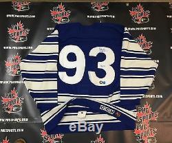 Doug Gilmour Jersey Édition Pro Maple Leafs Signé Dg-holo