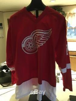 Dylan Larkin Red Wings De Detroit Signé Jersey-jsa Authentifié