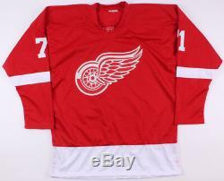 Dylan Larkin Signé Maillot Red Wings De Detroit (jsa) Carrière De Joueur 2015présent