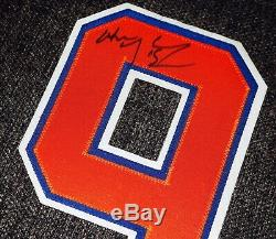 Edmonton Oilers Wayne Gretzky Signé Numéro Officiel De Jersey Withproof + Coa