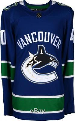Elias Pettersson Jersey Adidas Authentic Authentic Bleu Canucks De Vancouver