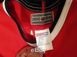 Excellent CCM Authentic Chicago Blackhawks 10 Tony Amonte Jersey 52 Centre Glace