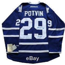 Felix Potvin A Signé Autographes Toronto Maple Leafs Reebok