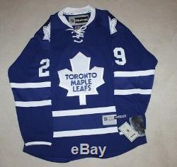 Felix Potvin A Signé Le Maillot Reebok Autographié Des Maple Leafs De Toronto