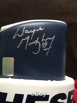 Gants Wayne Gretzky Des Rangers De New York Autographiés
