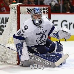 Gardien De But Vasilevskiy 58g Jersey Tampa Bay Lightning Bord Équipe 2.0 NHL Publié Jeu