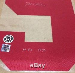 Gordie Howe - Maillot Signé Numéro 1 Des Red Wings De Detroit - Coa / Hologramme
