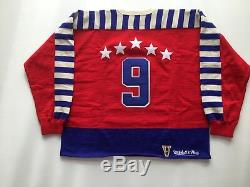 Gordie Howe Signé Jersey 1948 Michell Et Ness All Star Red Wings Coa