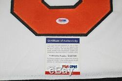 Gordie Howe Signé Pays De Galles 1980 All Star Jersey Jeu Psa / Adn Coa Authentique XL Nwt