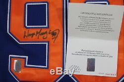 Gretzky CCM Wayne Signe Jersey Withcoa Wga Edmonton Oilers Autographed Authentic