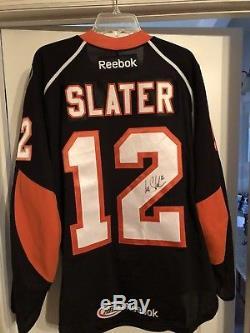 Ian Slater Phantons - Chandail De Hockey Des Flyers - Jeu D'ours Solaires - Ahl