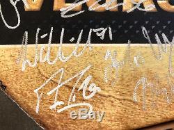 Inaugural De L'équipe Des Golden Knights De Las Vegas, Autographiée, Sur Toile Fleury Neal