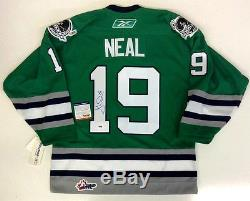 James Neal Signé Plymouth Whalers Rbk Maillot Psa / Ada Coa Vegas Golden Knights