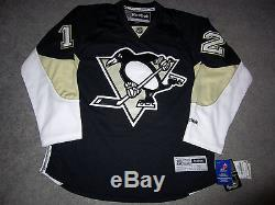 Jarome Iginla Penguins De Pittsburgh Signé Jersey Coa Autographié Avalanche