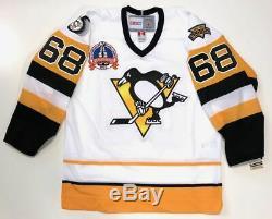 Jaromir Jagr Maillot De La Coupe Stanley 1992 Des Penguins De Pittsburgh Signé Beckett Coa