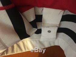Jeremy Roenick Chicago Blackhawks Jersey 56 Strap CCM 90 Authentique Rare