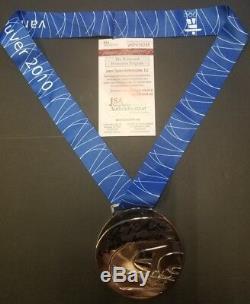 Joe Pavelski Signé Sj Sharks, Médaille Olympique En Argent Des États-unis En 2010. Témoin Jsa