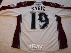 Joe Sakic Signé Hof'12jersey-hockey Ink