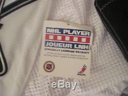 Joe Thornton Maillot Authentic On Ice Game De CCM Sur Le San Francisco Sharks Avec Étiquettes