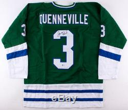 Joel Quenneville - Maillot Signé Hartford Whalers (beckett) Blackhawks - Coach Q