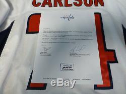 John Carlson A Porté Le Maillot De Washington Capitals