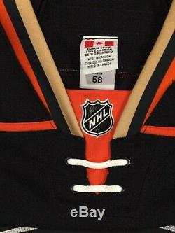 John Gibson Ducks Jeu Émis Signé Auto Jersey NHL Edge 2.0 Taille 58g Loa
