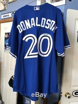 Josh Donladson Signé Jersey Frameworth
