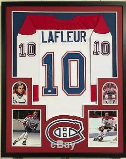 Jsa Coa, Maillot Des Canadiens De Montréal, Autographié Et Signé Par Guy Lafleur