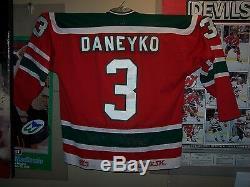 Ken Daneyko Rookie Road New Jersey Devils Sandow Sk Mesh / Dave Hutchison Inaugur