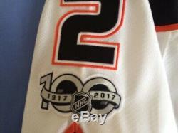 Kevin Bieksa Anaheim (puissant) Ducks NHL Hockey Sur Glace Jersey