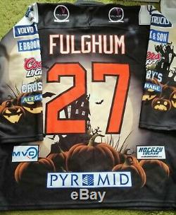 Luke Fulghum Coventry Blaze Portés Halloween Jersey