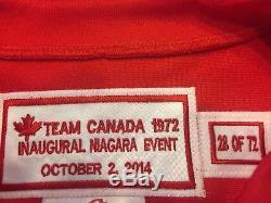 Maillot Authentique D'équipe Canada 1972 En Édition Limitée