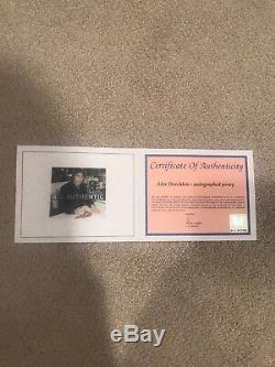 Maillot Autographié Et Encadré Par Alex Ovechkin, Certifié A. J. Sportsworld