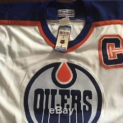 Maillot Autographié Par Wayne Gretzky Home Oilers