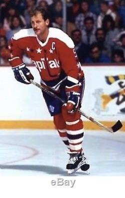 Maillot De Hockey Rm Langway Washington Capitals Taille 52 / XL Retro CCM