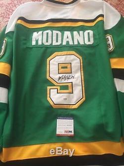 Maillot Mike Modano Autographié