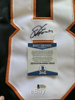 Maillot Philadelphia Flyers Autographié / Signé Eric Lindros Avec Beckett Coa
