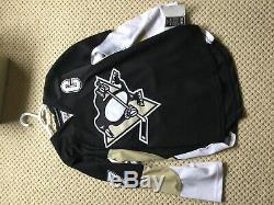 Maillot Sidney Crosby Signé Avec Coa