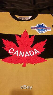 Mario Lemieux A Signé Le Coa Du Maillot Des Falcons D'équipe Canada! Privatesigning Rare