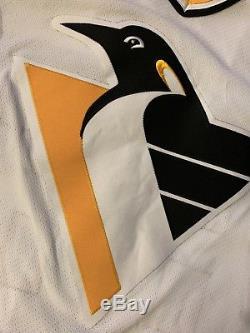Mario Lemieux Chandail Autographié / Signé Des Pittsburgh Penguins