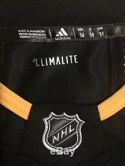 Mario Lemieux - Maillot Adidas LNH Des Penguins (coa) Signé